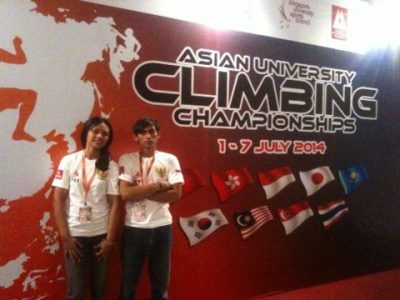 elektro juara panjat tebing asean di singapura