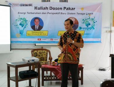 Agus Ulinuha. ST. MT., P.hD., Dosen Teknil Elektro auniversitas Muhammadiyah Surakarta (UMS).